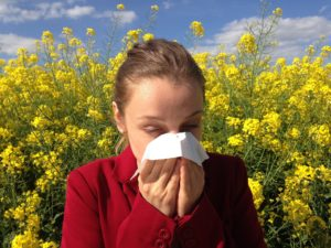 Tratar sintomas de la alergia